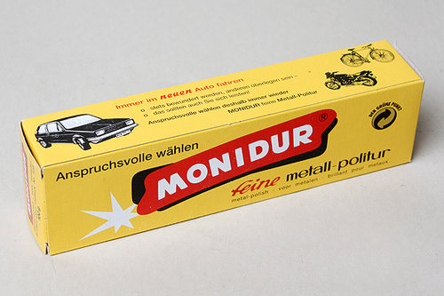 MONIDUR Metall-/Chrom-Politur, Politurpaste - Tube, 100g